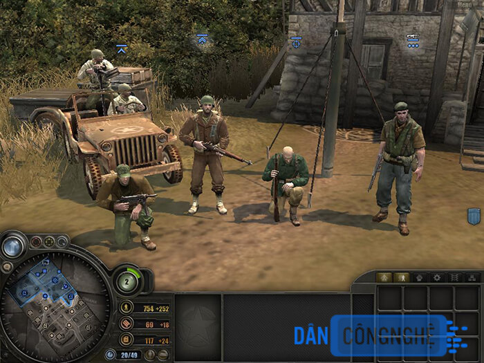 chơi game Commandos Behind Enemy Lines