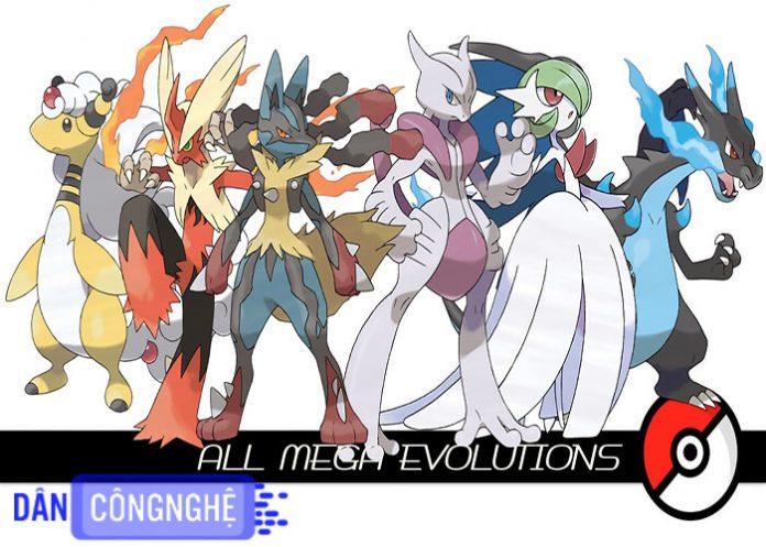 pokemon tiến hóa