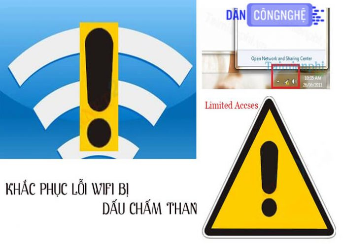 lỗi no internet access
