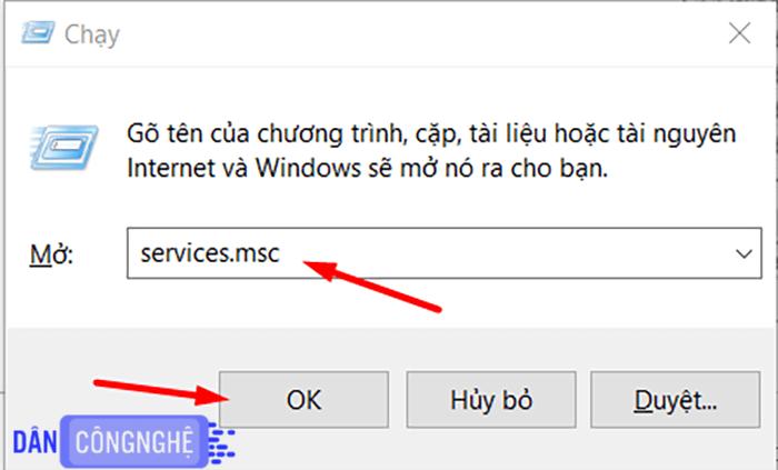 sửa lỗi windows modules installer worker 1