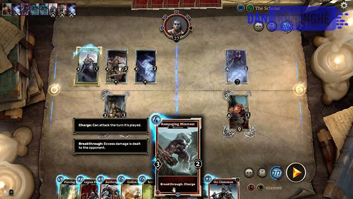 Elder Scrolls Legend là tựa game huộc thể loại game thẻ bài