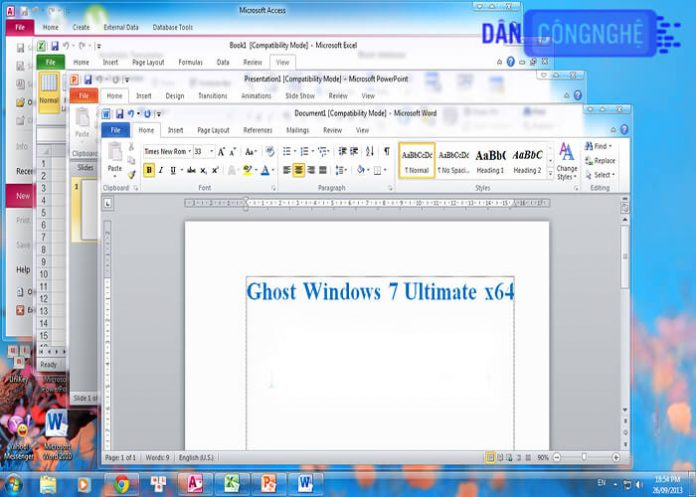 ghost win 7 64bit
