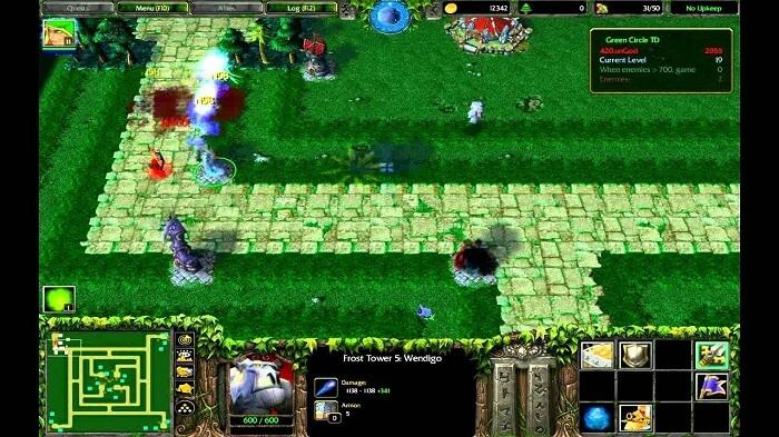 hình ảnh trong map green circle td