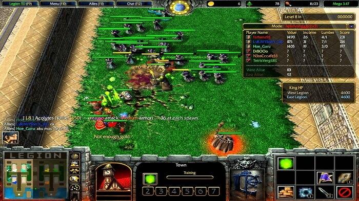hình ảnh trong map legion td