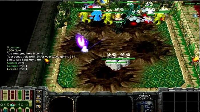 hình ảnh trong map pokemon defense