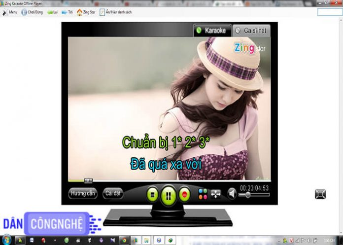 zing karaoke offline player